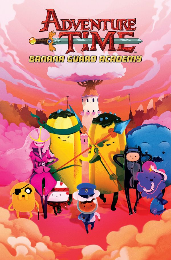 [Cover Art image for Adventure Time: Banana Guard Academy]