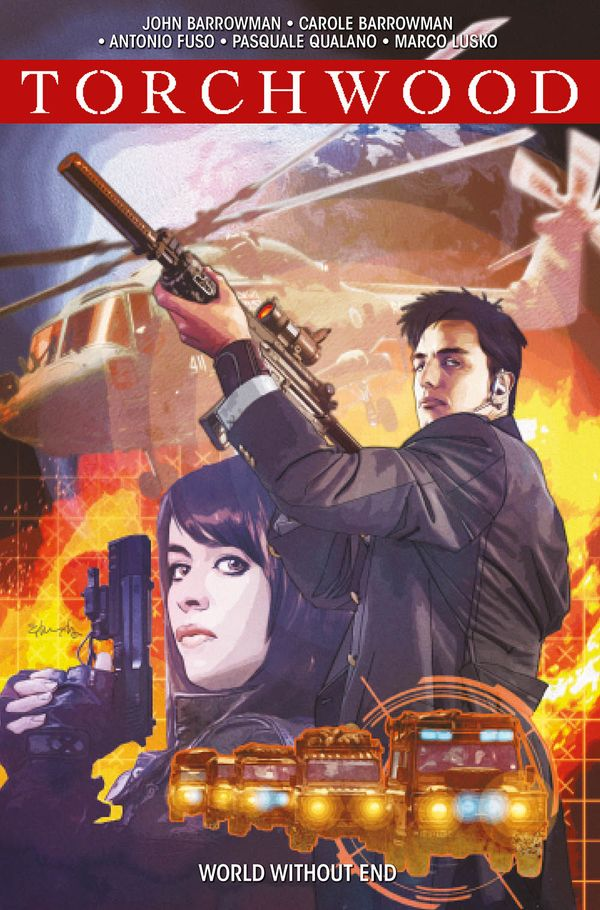 [Cover Art image for Torchwood Vol. 1: World Without End]