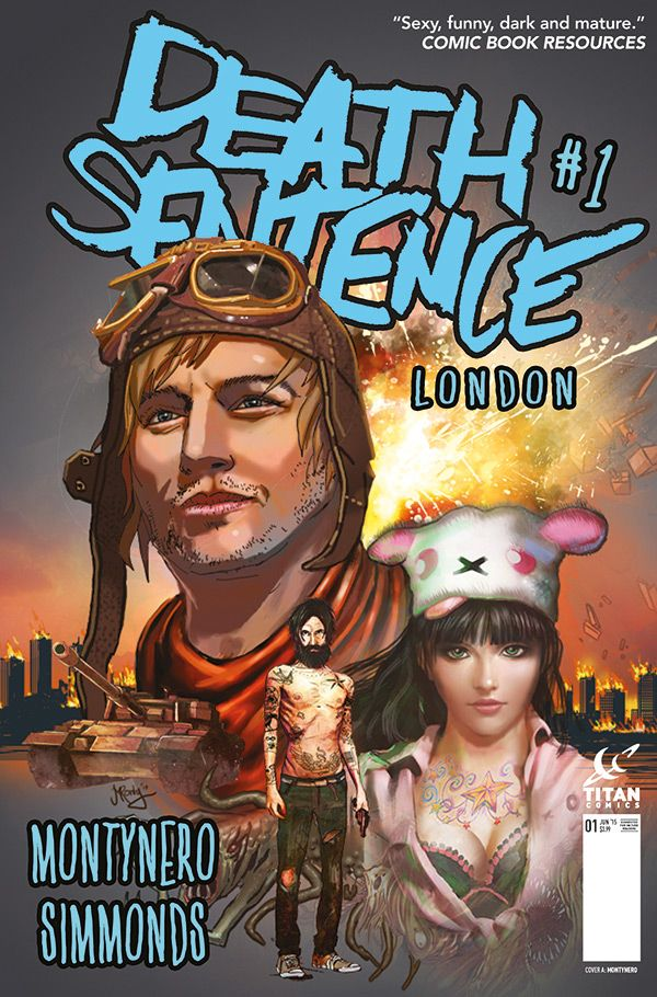 [Cover Art image for Death Sentence London]
