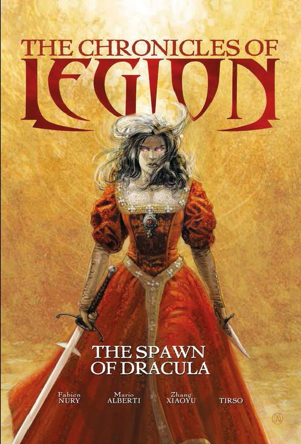 [Cover Art image for The Chronicles of Legion Vol. 2: The Spawn of Dracula]