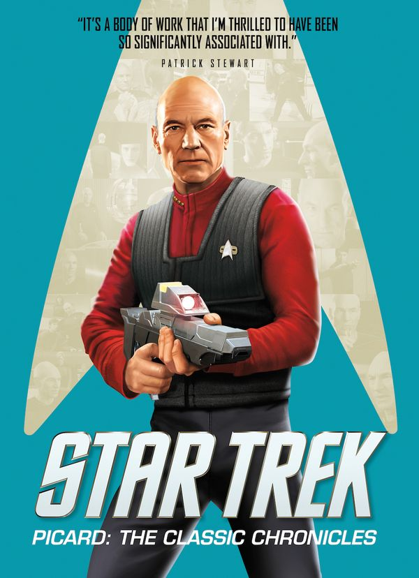 [Cover Art image for Star Trek Picard: The Classic Chronicles]