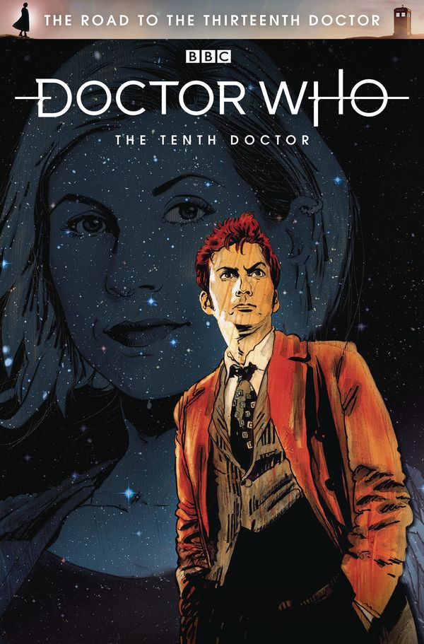 [Cover Art image for Doctor Who: The Road to the Thirteenth Doctor: The Tenth Doctor]