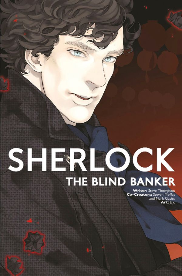 [Cover Art image for Sherlock Vol. 3: The Blind Banker]