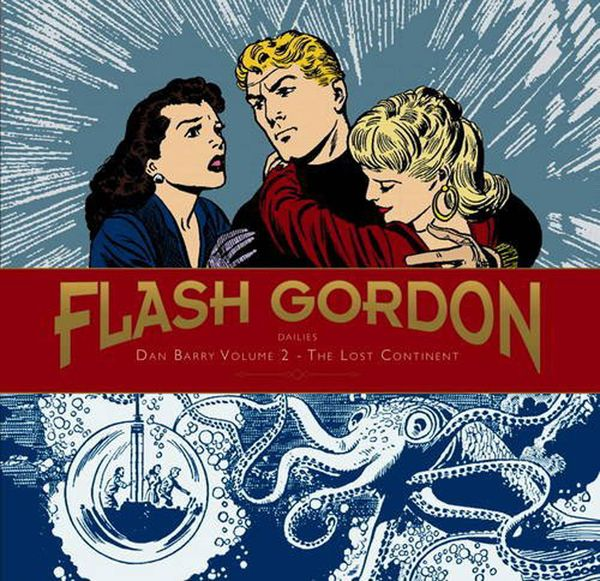 [Cover Art image for Flash Gordon: Dan Barry Vol. 2: The Lost Continent]