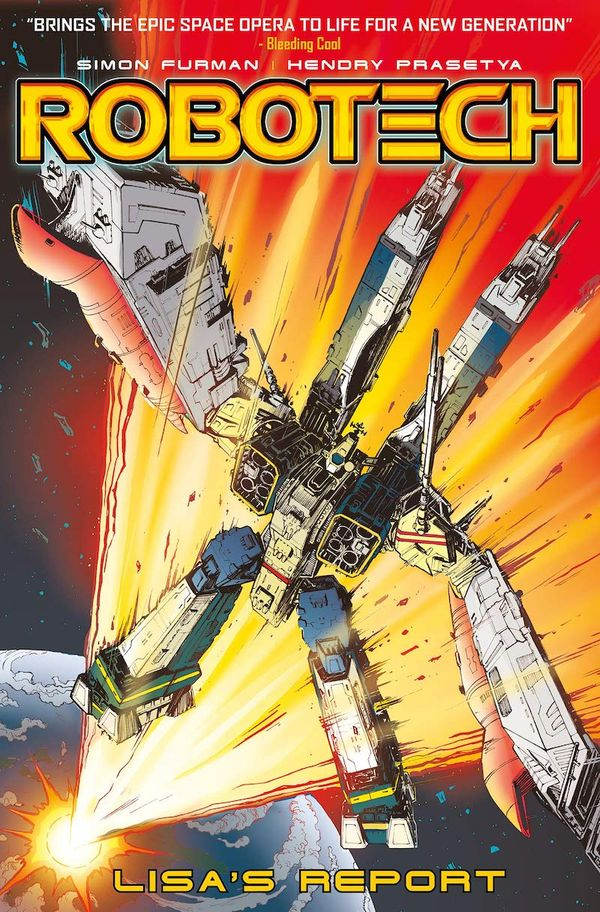 [Cover Art image for Robotech: Lisa's Report]