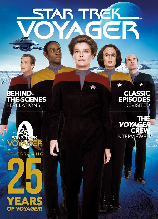 [Cover Art image for Star Trek: Voyager 25th Anniversary Special]