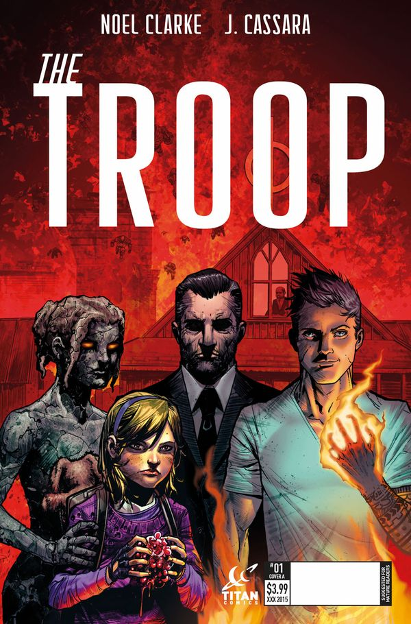 [Cover Art image for The Troop]