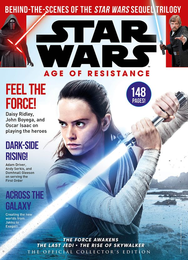 [Cover Art image for Star Wars: The Age of Resistance - The Official Collector's Edition]