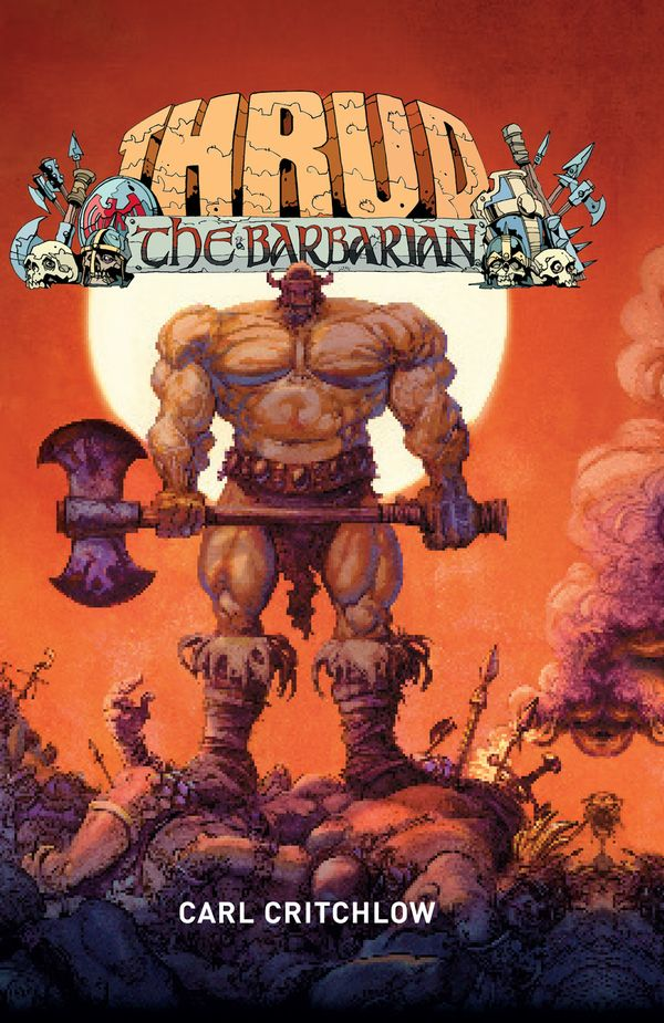 [Cover Art image for Thrud The Barbarian: Comics Bento Ed]