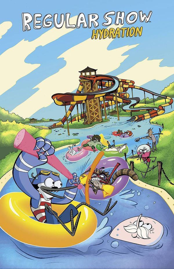 [Cover Art image for Regular Show: Hydration]