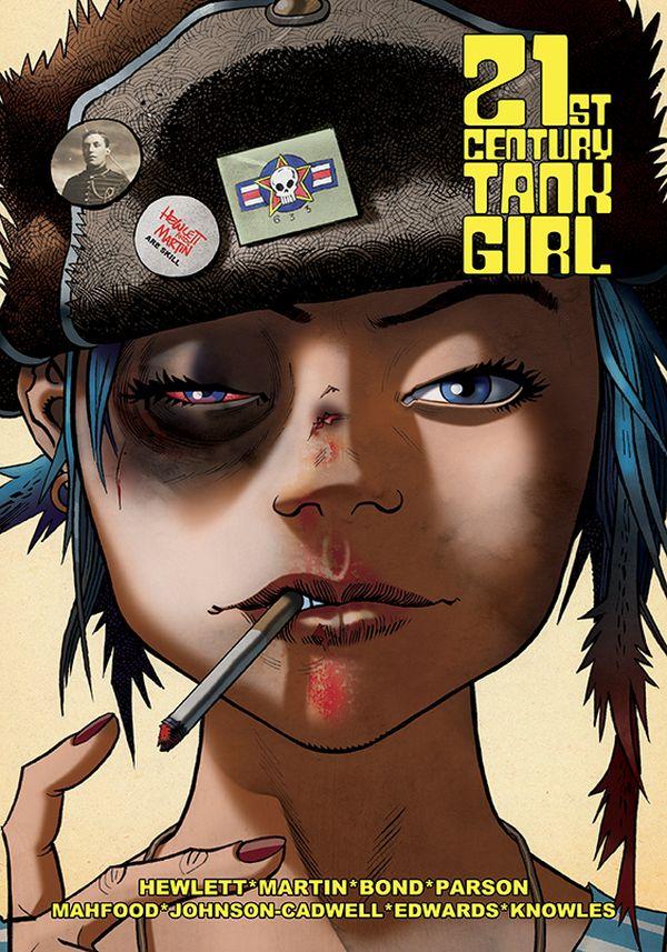 [Cover Art image for Tank Girl: 21st Century Tank Girl]