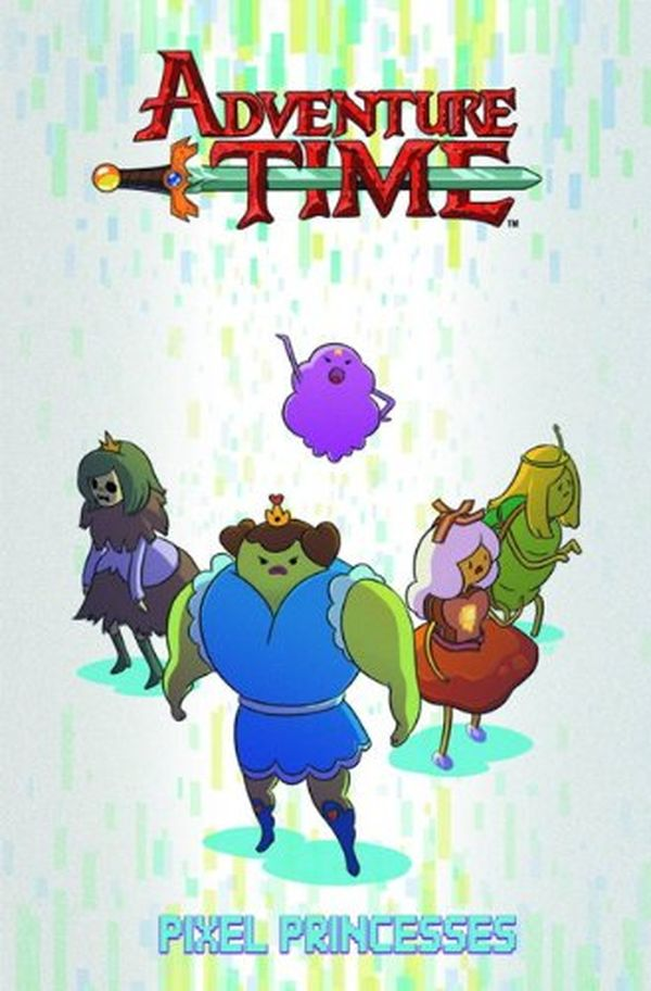[Cover Art image for Adventure Time: Pixel Princesses]