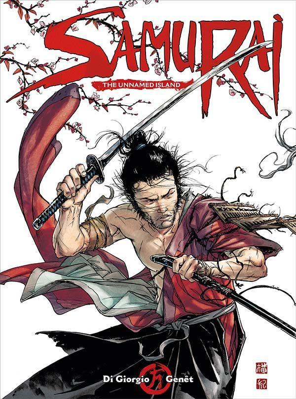 [Cover Art image for Samurai Vol. 5: The Unnamed Island]