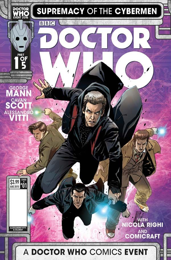 [Cover Art image for Doctor Who: Supremacy of the Cybermen]