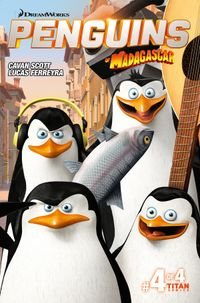 [Image for Penguins of Madagascar: The Elite-est of the Eite]
