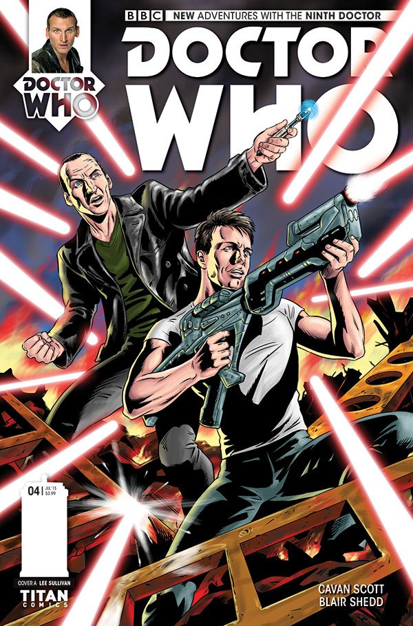 [Cover Art image for Doctor Who: The Ninth Doctor Miniseries]