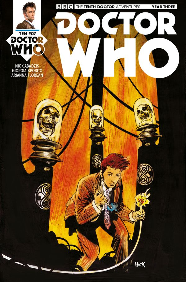 [Cover Art image for Doctor Who: The Tenth Doctor]