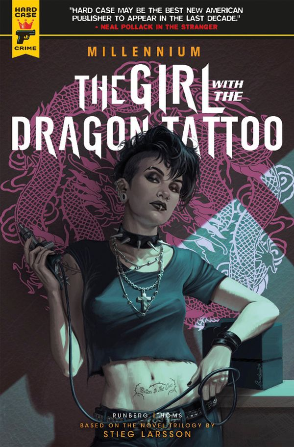 [Cover Art image for The Girl with the Dragon Tattoo - Millennium]