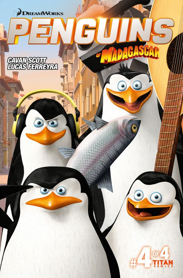 [Cover Art image for Penguins of Madagascar: The Elite-est of the Eite]
