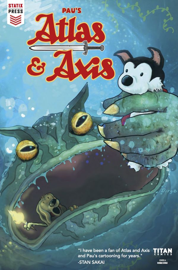 [Cover Art image for Atlas & Axis]