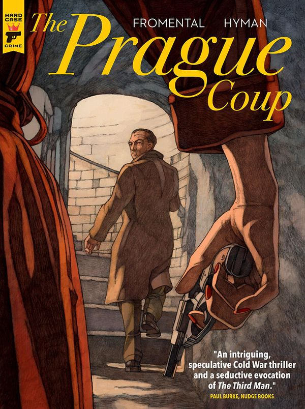 [Cover Art image for The Prague Coup]