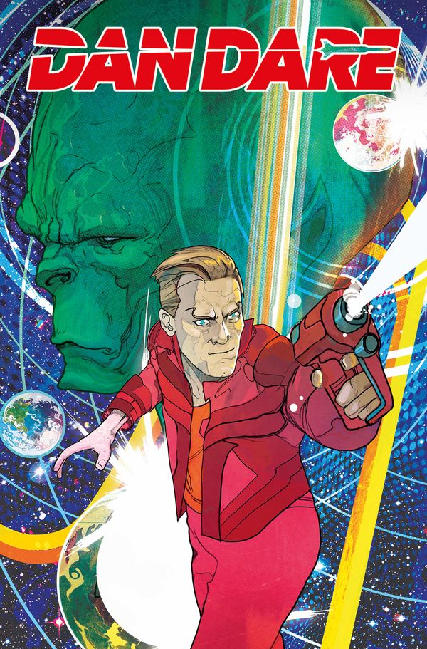 [Cover Art image for Dan Dare]