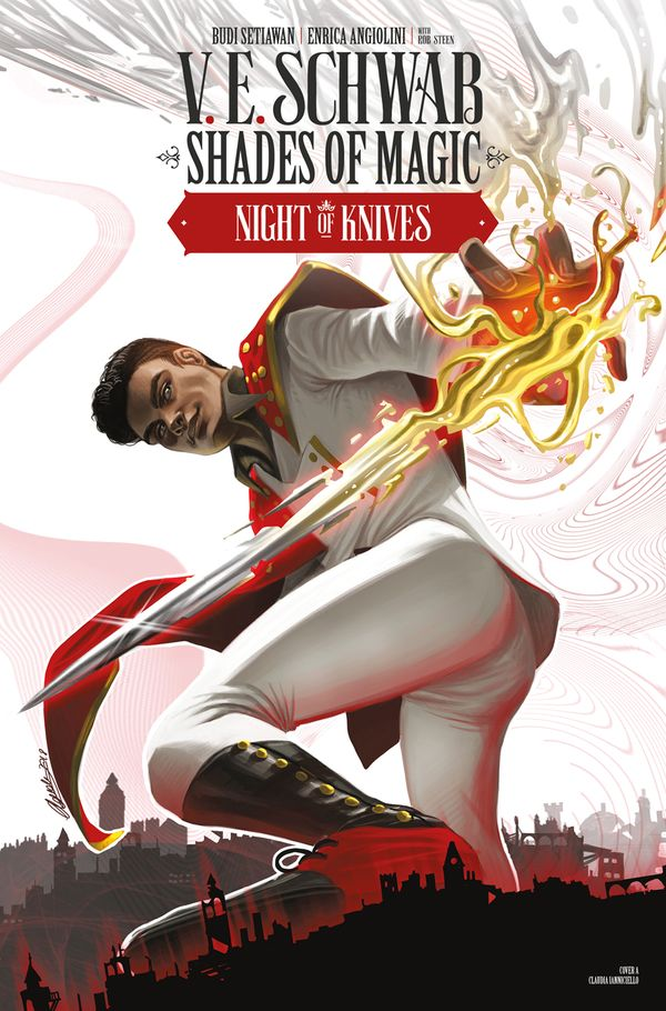 [Cover Art image for Shades of Magic: The Steel Prince: Night of Knives]