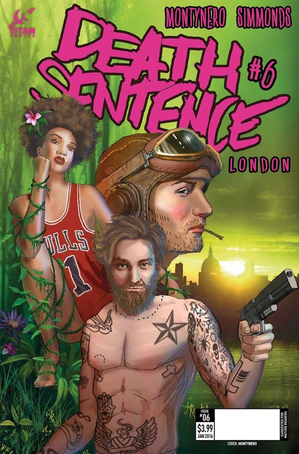 [Cover Art image for Death Sentence London]