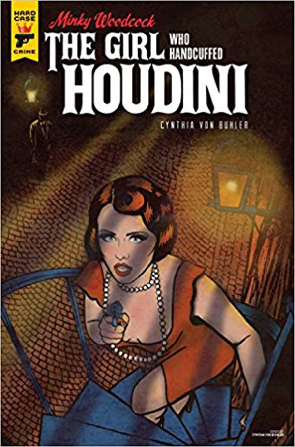 [Cover Art image for Minky Woodcock: The Girl Who Handcuffed Houdini]