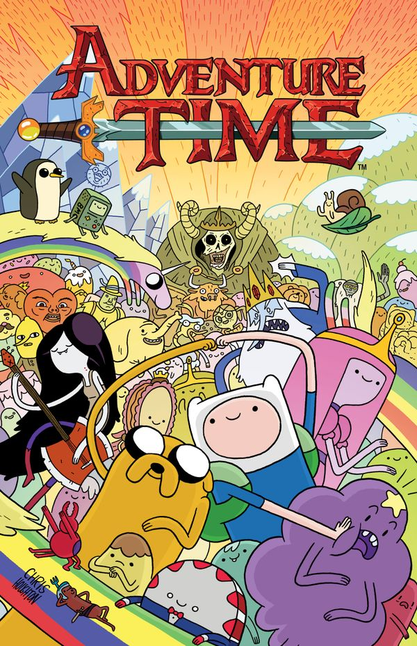 [Cover Art image for Adventure Time]