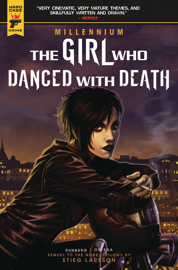 [Cover Art image for Millennium Vol. 4: The Girl Who Danced With Death]
