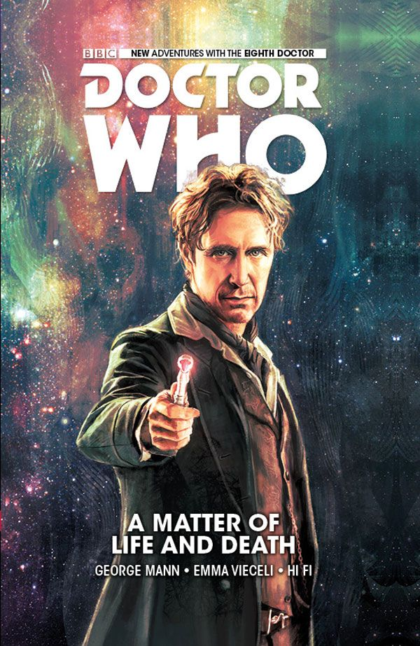 [Cover Art image for Doctor Who: The Eighth Doctor: A Matter of Life and Death]