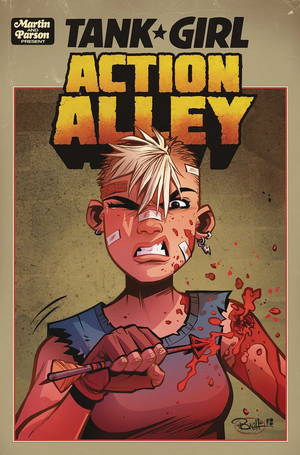 [Cover Art image for Tank Girl: Action Alley]