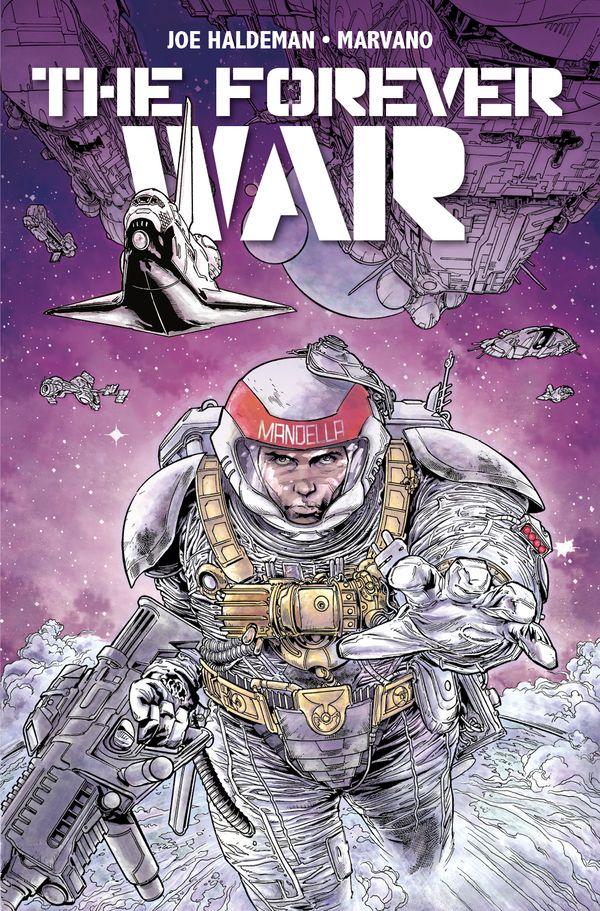 [Cover Art image for The Forever War Vol. 1]