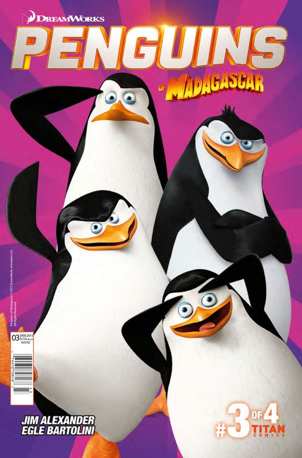 [Cover Art image for Penguins of Madagascar]