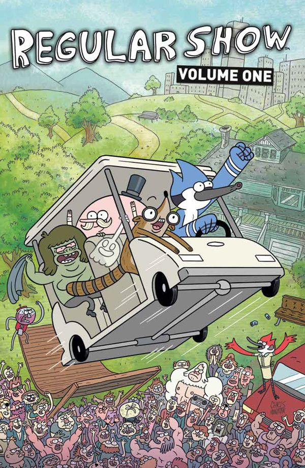 [Cover Art image for Regular Show Vol. 1]
