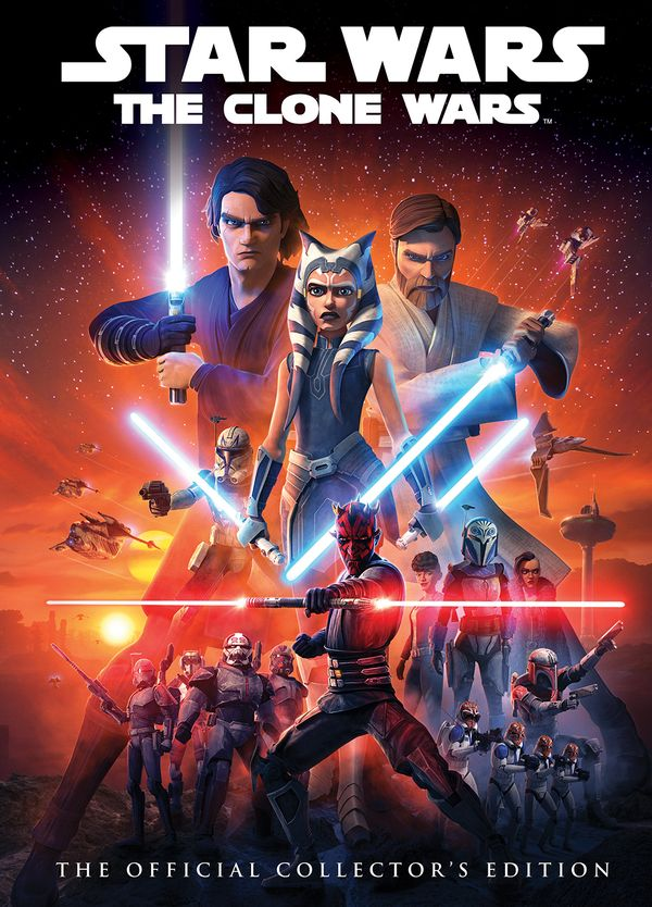 [Cover Art image for Star Wars: The Clone Wars: The Official Collector's Edition]