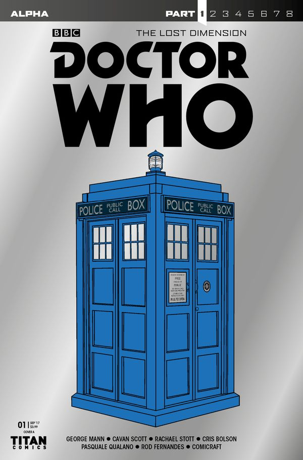 [Cover Art image for Doctor Who: The Lost Dimension Part 1]