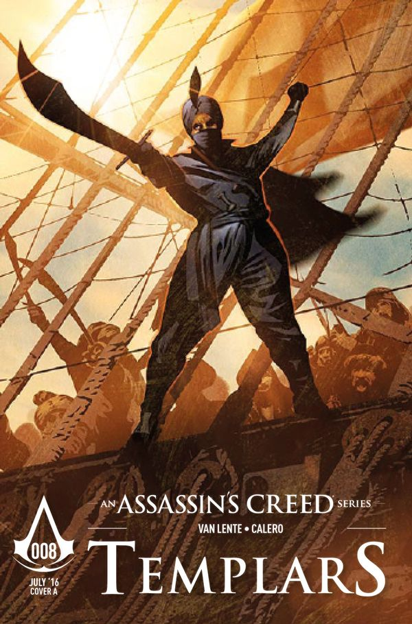 [Cover Art image for Assassin's Creed: Templars]