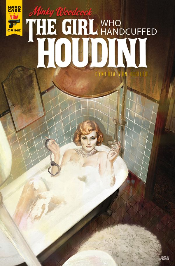 [Cover Art image for Minky Woodcock: The Girl Who Handcuffed Houdini]