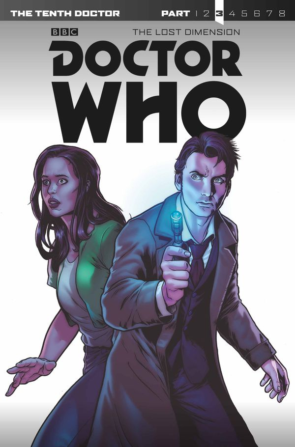 [Cover Art image for Doctor Who: Tenth Doctor The Lost Dimension, Part 3]