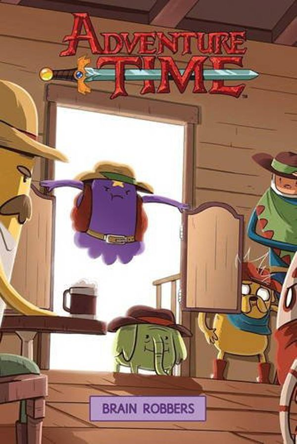 [Cover Art image for Adventure Time: The Brain Robbers]