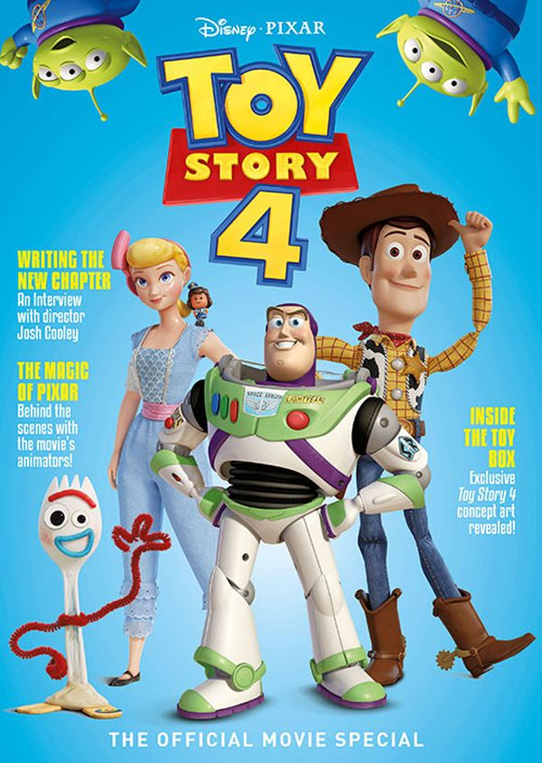 [Cover Art image for Disney Pixar's Toy Story 4: The Official Movie Special]