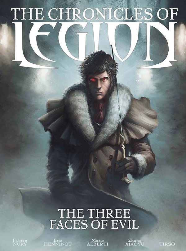 [Cover Art image for The Chronicles of Legion Vol. 4: The Three Faces of Evil]