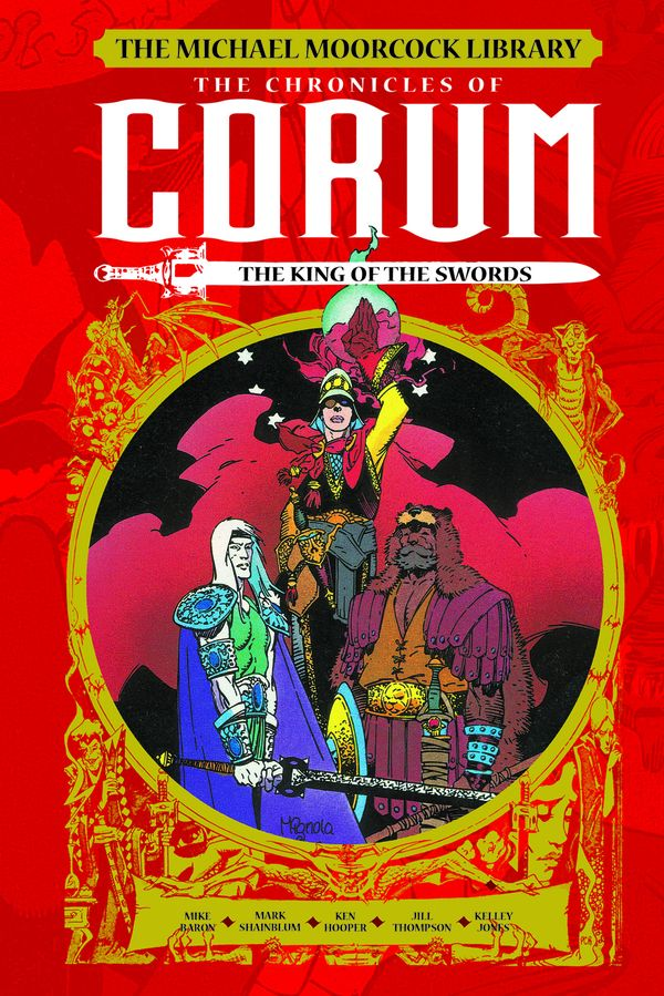 [Cover Art image for The Michael Moorcock Library: The Chronicles of Corum Vol. 3: The King of Swords]
