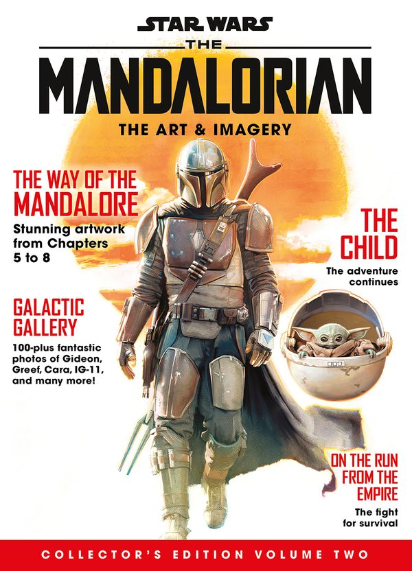 [Cover Art image for Star Wars: The Mandalorian - The Art & Imagery Collector's Edition Volume 2]