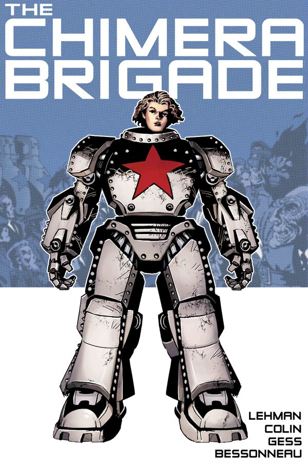 [Cover Art image for The Chimera Brigade Vol. 1]