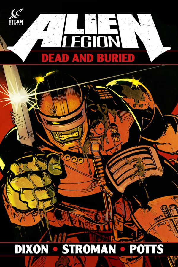 [Cover Art image for Alien Legion: Dead and Buried]