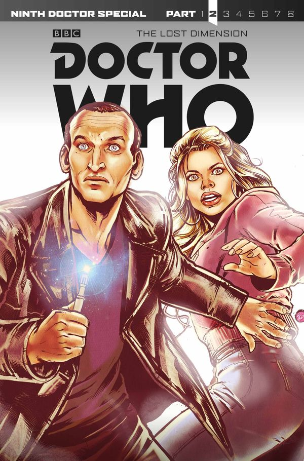 [Cover Art image for Doctor Who: Ninth Doctor The Lost Dimension, Part 2]