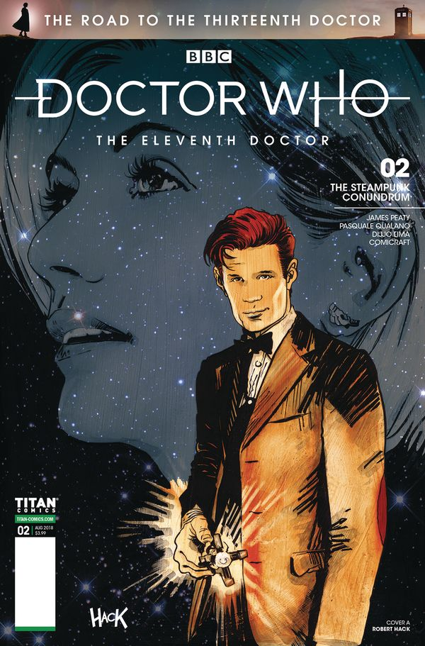[Cover Art image for Doctor Who: The Road to the Thirteenth Doctor: The Eleventh Doctor]